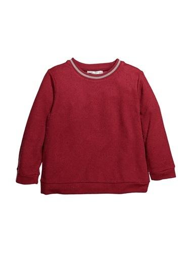 Zeyland Ribanalı Simli Sweatshirt (5-12yaş) Ribanalı Simli Sweatshirt (5-12yaş) Bordo